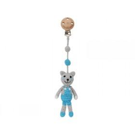 Sindibaba crochet pram clip cat FELIX