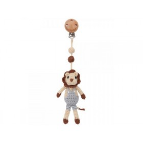 Sindibaba Crochet Pram Clip Lion LEON