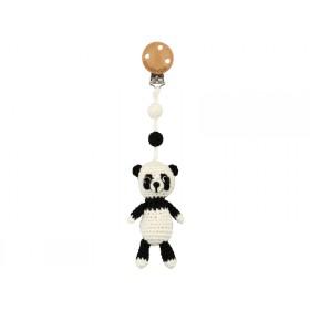 Sindibaba Crochet Pram Clip PANDA