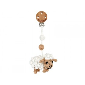 Sindibaba Crochet Pram Clip SHEEP