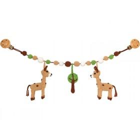Sindibaba stroller chain giraffes