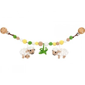 Sindibaba stroller chain sheeps
