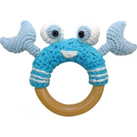 Sindibaba crab rattle blue