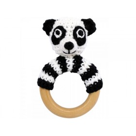 Sindibaba panda rattle ring