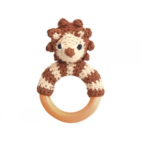 Sindibaba rattle ring hedgehog