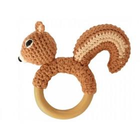 Sindibaba rattle ring chipmunk