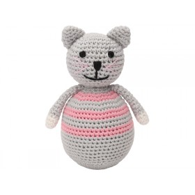 Sindibaba crochet cat tumbler KITTY