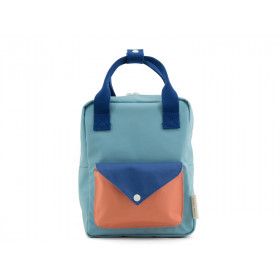 Sticky Lemon Backpack ENVELOPE S denim blue