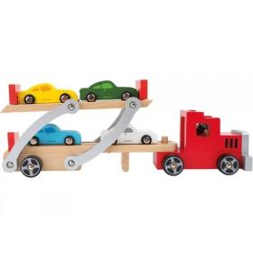 Small Foot Design car transporter
