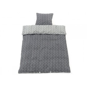 Smallstuff Reversible Bedding Tractor grey