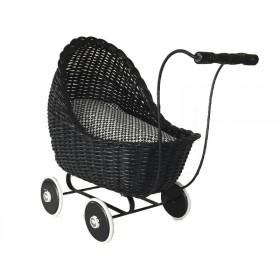 Smallstuff dolls stroller black