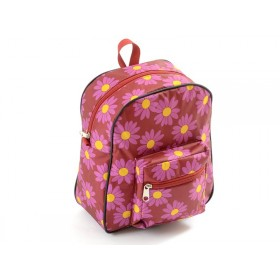 Smallstuff backpack red daisy