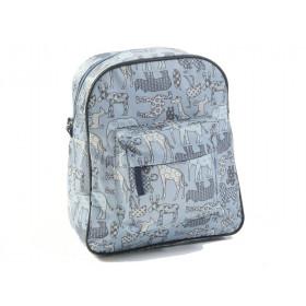 Smallstuff backpack denim animals