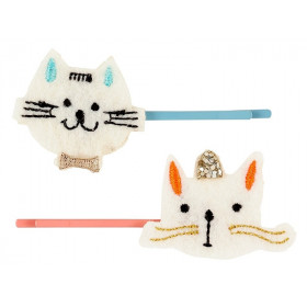 Souza 2 Hair Clips CAT Joy