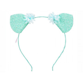 Souza Alice Band CAT EARS Mint