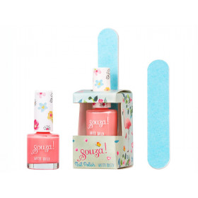 Souza Nail Polish Set FLAMINGO PINK