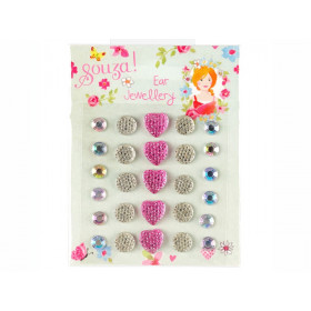 Souza Ear Stickers HEARTS & DIAMONDS