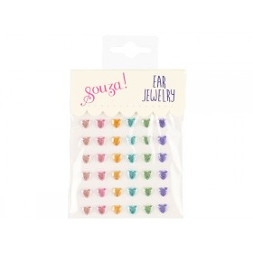 Souza Ear Clip Stickers HEARTS