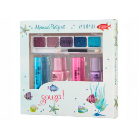 Souza Make-Up & Nail Polish Set MERMAID