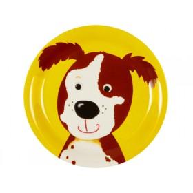 Spiegelburg melamine plate dog