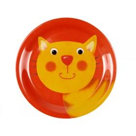 Spiegelburg melamine plate cat