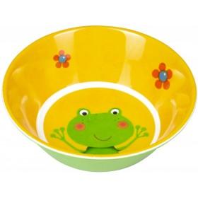 Spiegelburg melamine bowl frog