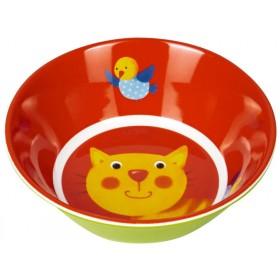 Spiegelburg melamine bowl cat