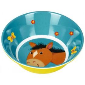 Spiegelburg melamine bowl horse