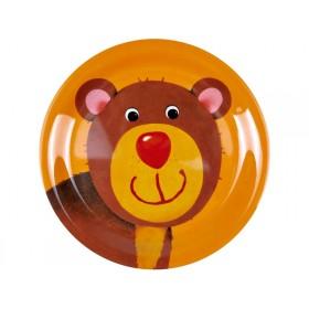 Spiegelburg melamine plate bear