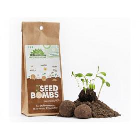 DieStadtgärtner 5 SEEDBOMBS Herbal Happiness