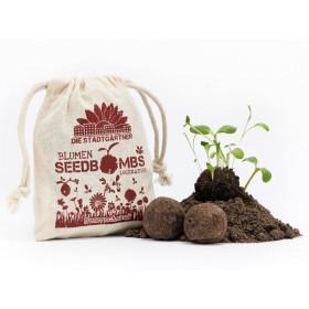 DieStadtgärtner 8 SEEDBOMBS Bee Feast