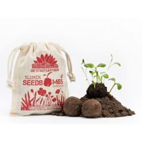 DieStadtgärtner 8 SEEDBOMBS Flowering Cornfield