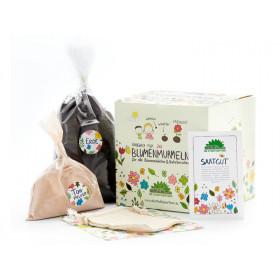 DieStadtgärtner DIY Kit for 30 Flower Marbles