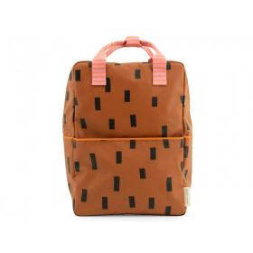 Sticky Lemon Large Backpack SPRINKLES Syrup Brown
