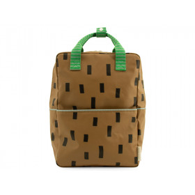 Sticky Lemon Large Backpack SPRINKLES Brassy Green