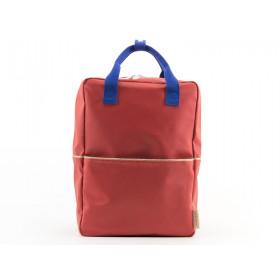 Sticky Lemon Large Backpack GLITTER Faded Red