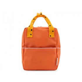 Sticky Lemon Small Backpack FRECKLES Carrot Orange