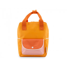 Sticky Lemon Small Backpack WANDERER Sunny Yellow & Orange