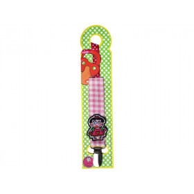 Supersoso Pacifier holder GIRL