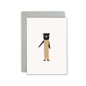 Ted & Tone Greeting Card Happy 1st Birthday