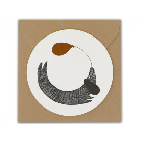 Ted & Tone Rounded Gift Card DOG small
