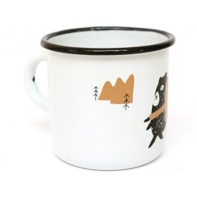 Ted & Tone Enamel Mug BEAR