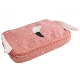 Trixie Pencil Case MRS. FLAMINGO Large
