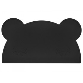 We Might Be Tiny Placemat Bear black