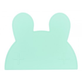 We Might Be Tiny Placemat Bunny mint