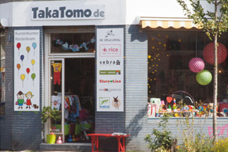 Unser TakaTomo Laden in Köln