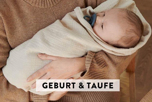 Geschenke zu Geburt & Taufe