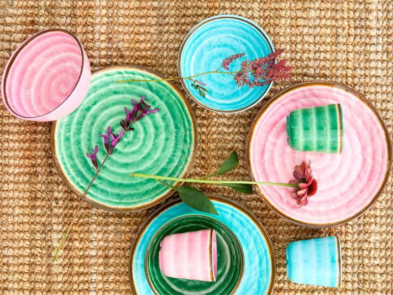 RICE Melamin im Keramik-Style