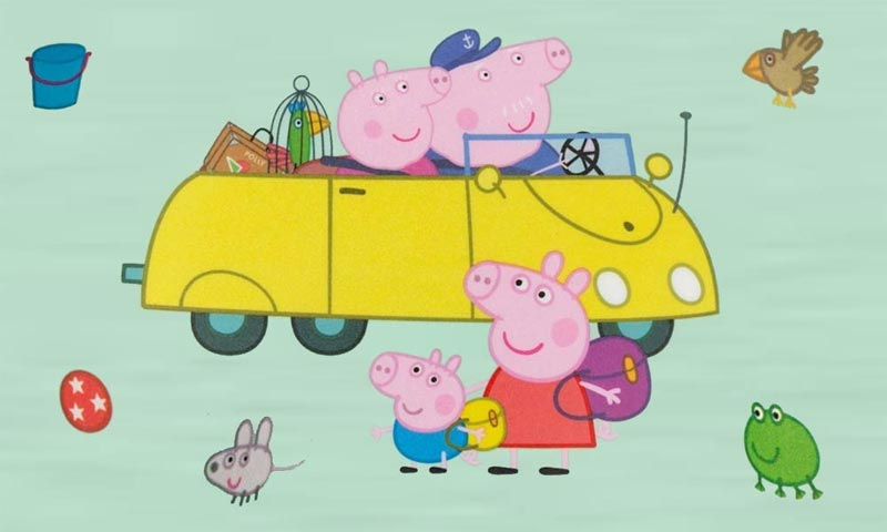 Peppa Pig Melamingeschirr